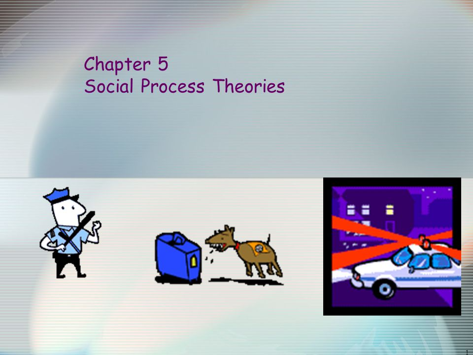 1 Chapter 5 Social Process Theories