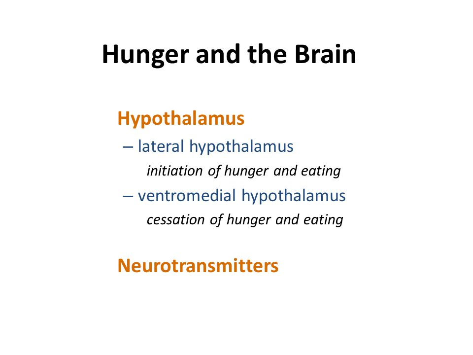 Obesity and Eating Behavior Psychological Factors In the past, the focus was on – emotional state – external food cues Current research is focusing on – time and place cues – sugar and fat content