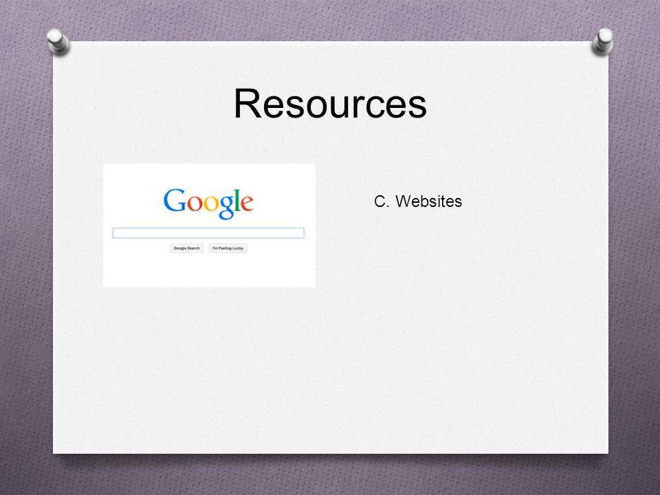 Resources C. Websites