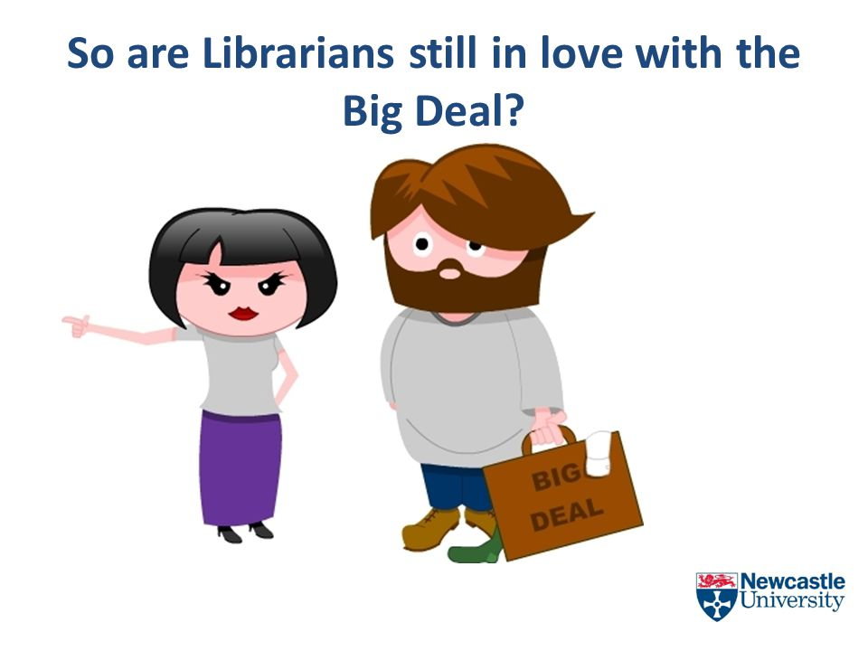 So are Librarians still in love with the Big Deal