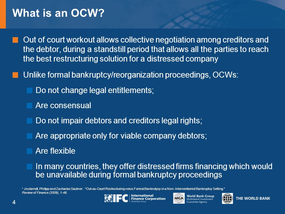 What is an OCW.