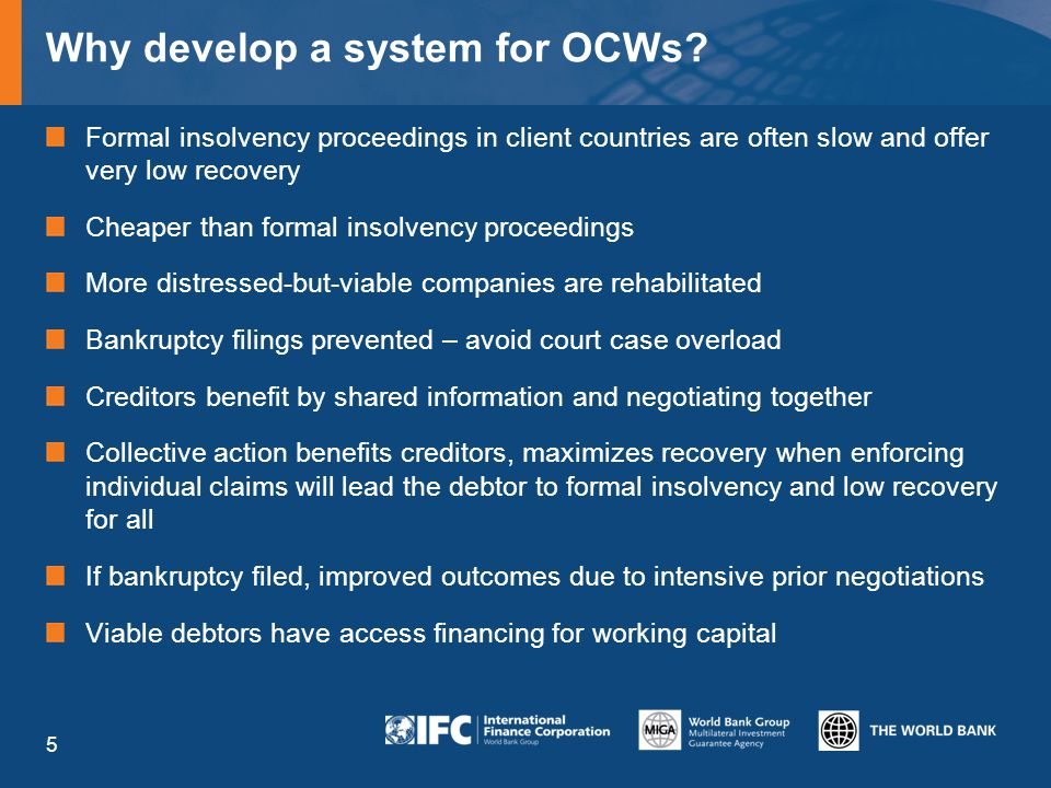 Why develop a system for OCWs.