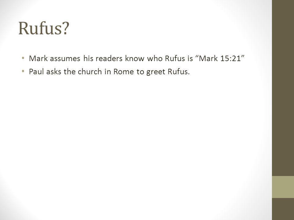 Rufus.