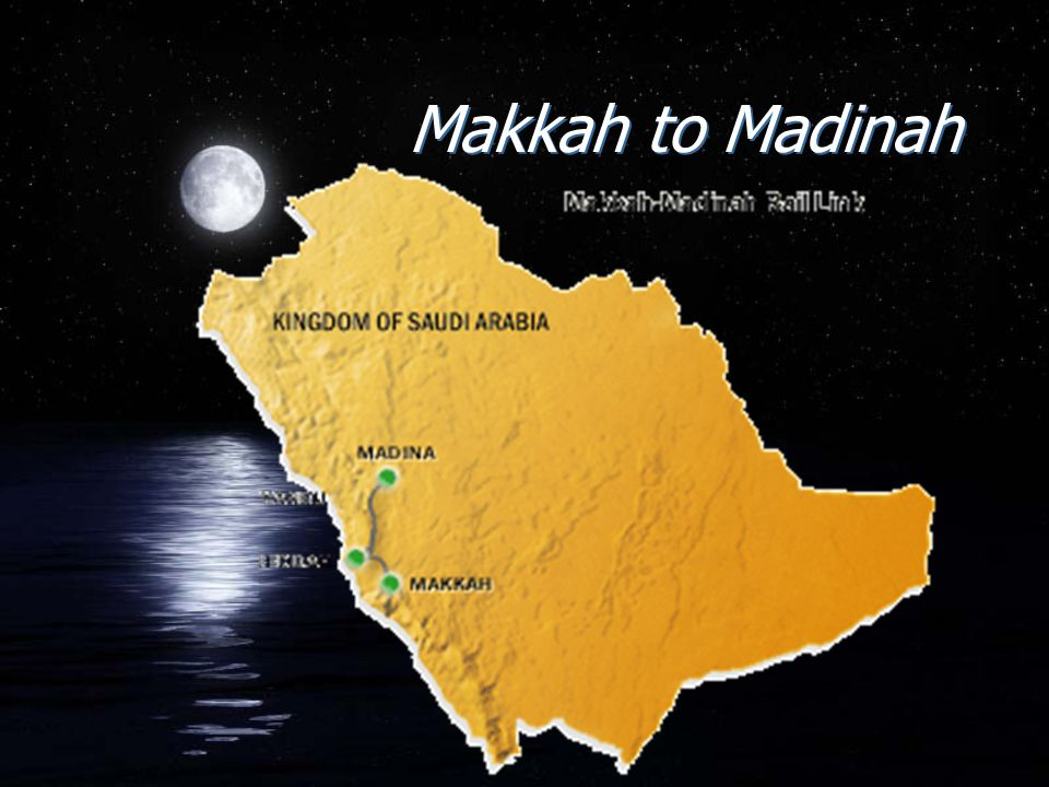 Makkah to Madinah