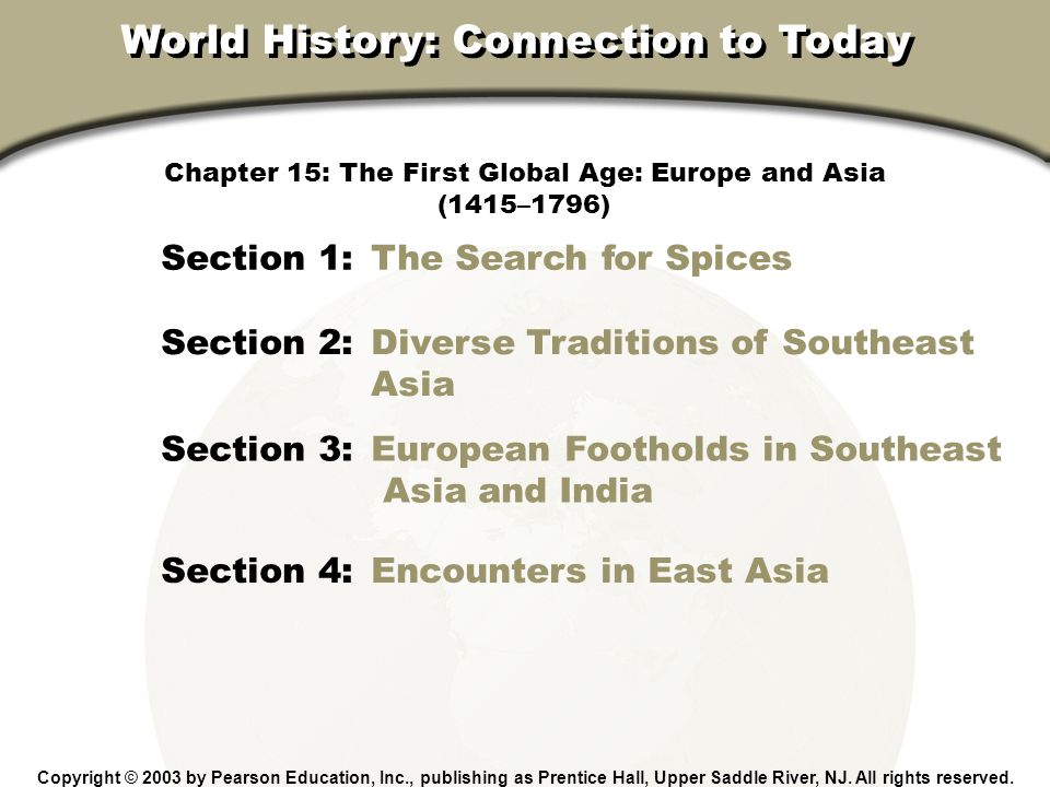 Chapter 15, Section 3 Section 3 Assessment Who successfully challenged Portuguese domination in Asia.