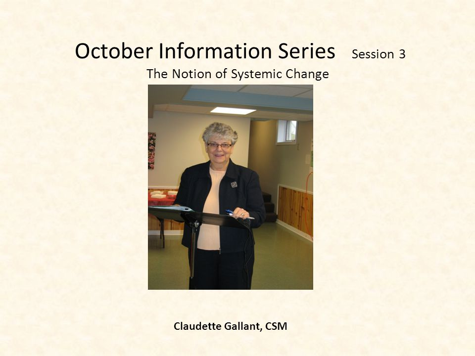 October Information Series Session 2 Economics of Happiness – Globalization versus Localization Agnes Burrows, SC
