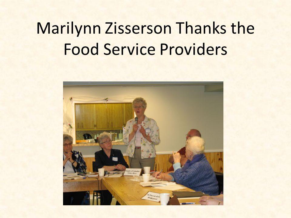 Food Service Providers Meeting June 2, 2013
