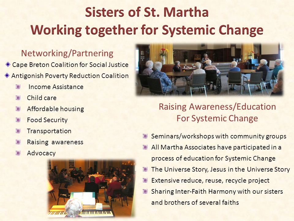 The Charity Federation-Maritime Project collaborates, networks and partners to work for advocacy for women and children and the working class living in poverty.