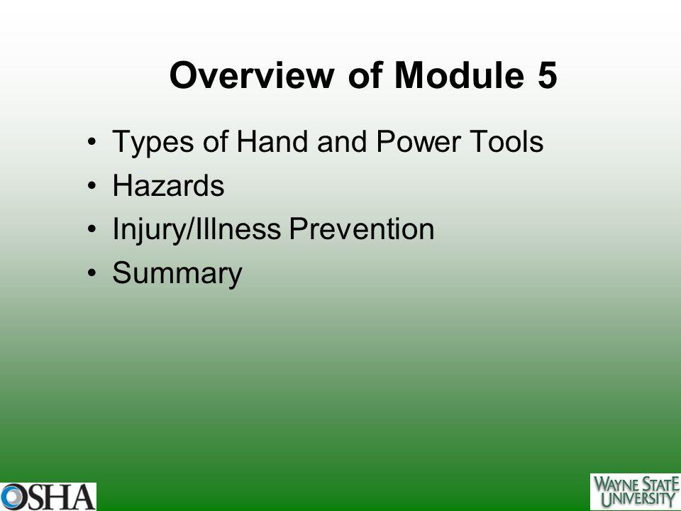 Portable Abrasive Wheel Tools Hazards: Flying fragments Defective or cracked wheels Wheel breakage during start-up
