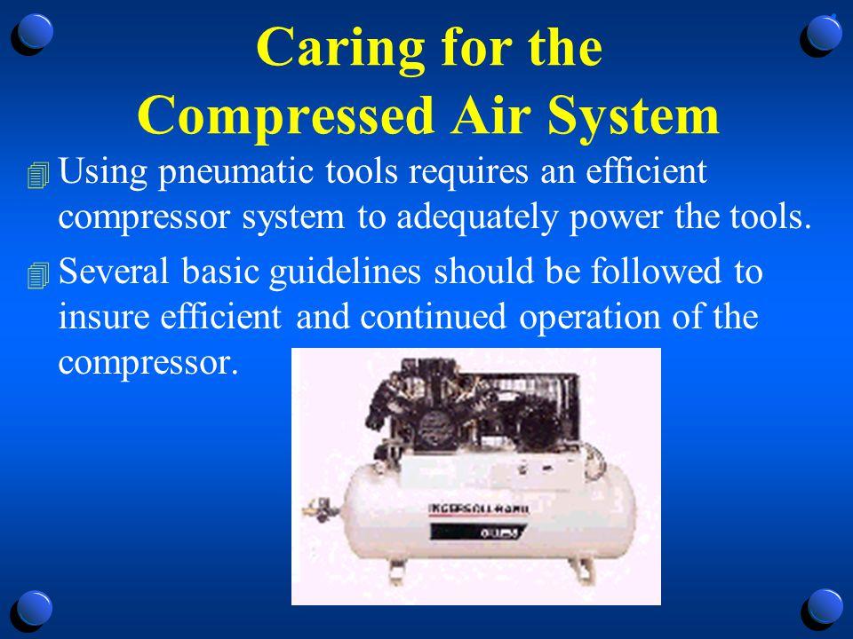 Compressor System Guidelines 1.
