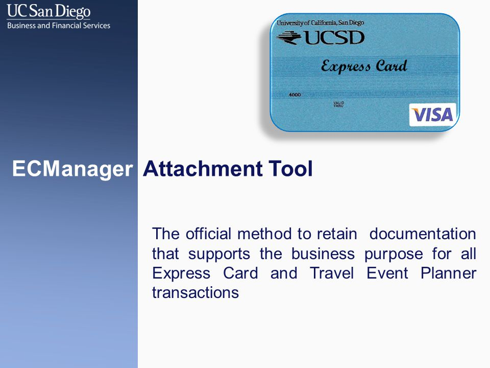 Advanced Searches Attachment Types to Include This search will narrow the results to transactions that have the specified attachment type uploaded based on your search criteria ECMANAGER ATTACHMENT TOOL Attachment Types to Exclude This search will narrow the results to transactions that do not have the specified attachment type uploaded based on your search criteria