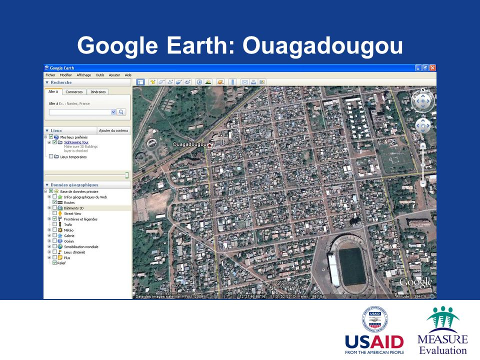 Google Earth: Ouagadougou