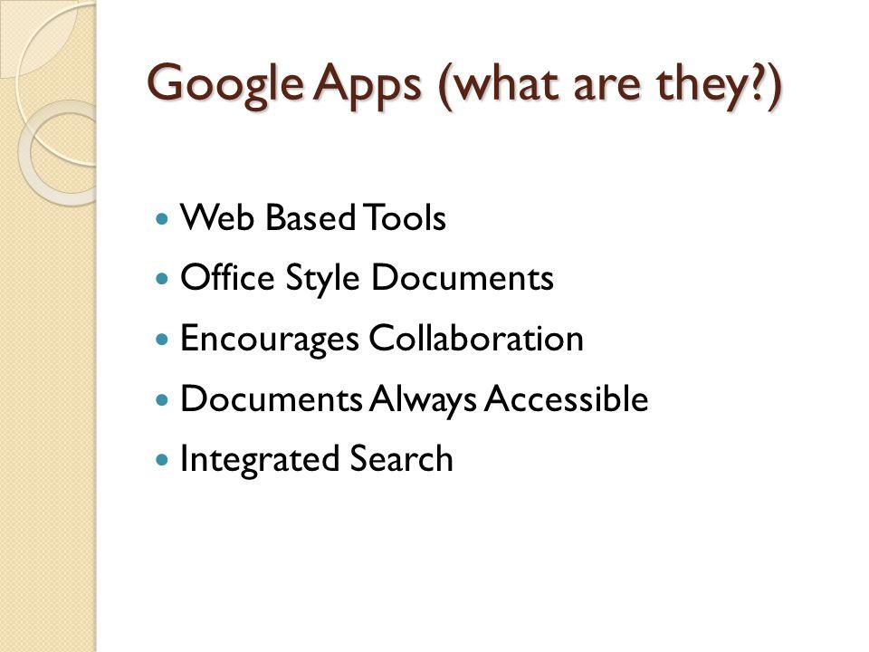 Google Apps vs.