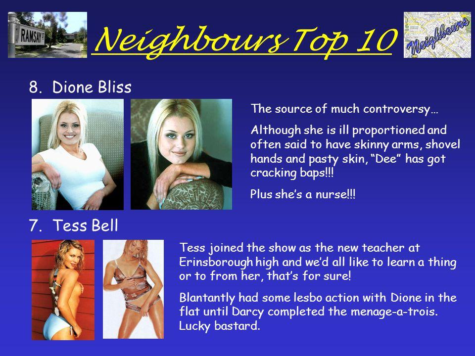 Neighbours Top 10 6.Sarah Beaumont 5.