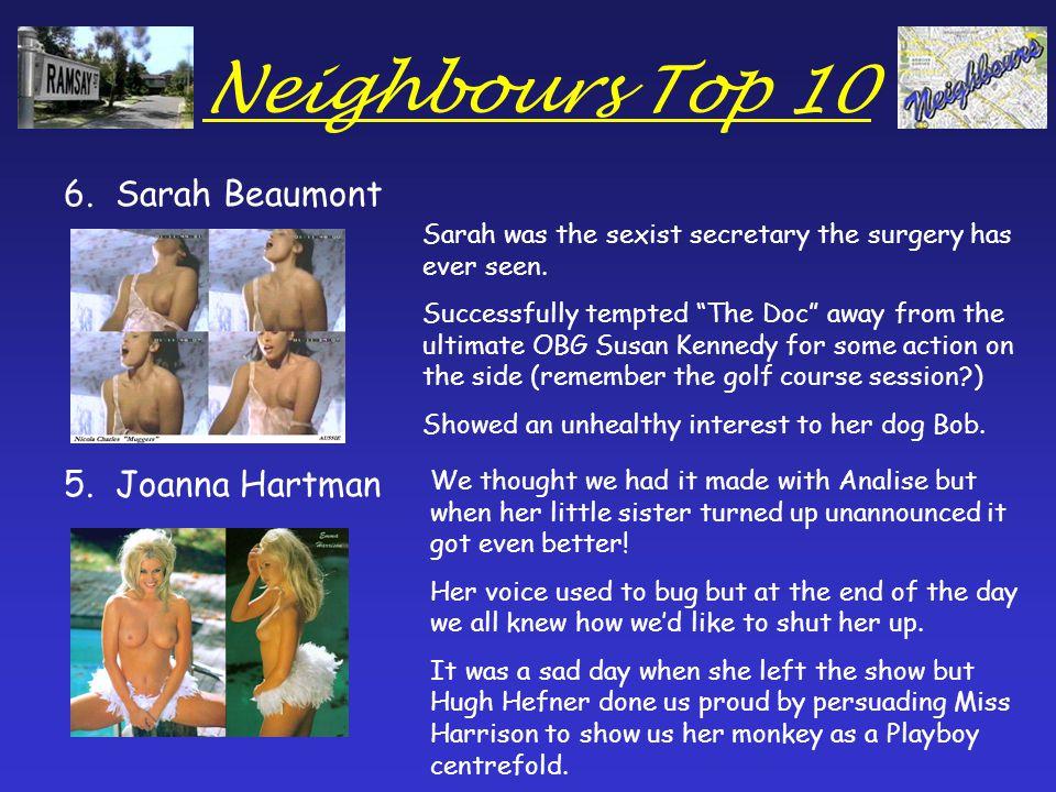 Neighbours Top 10 4.Analise Hartman 3.