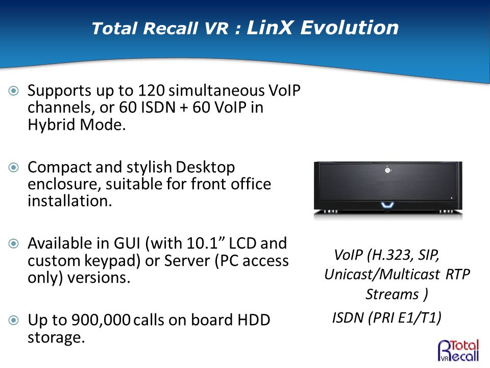  Supports up to 120 simultaneous VoIP channels, or 60 ISDN + 60 VoIP in Hybrid Mode.