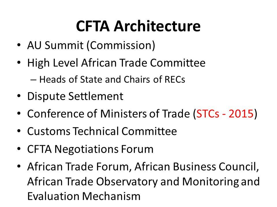 CFTA Architecture 1.