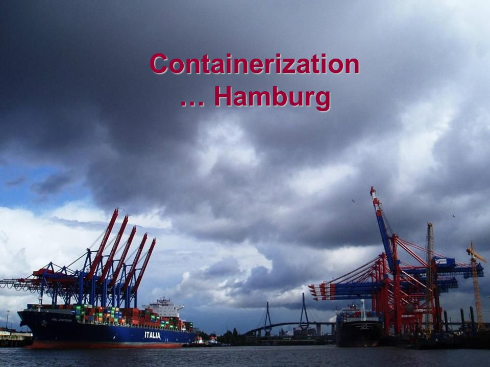 Guayaquil Containerization … Hamburg