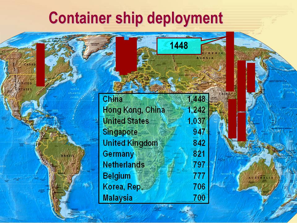 Container ship deployment 1448