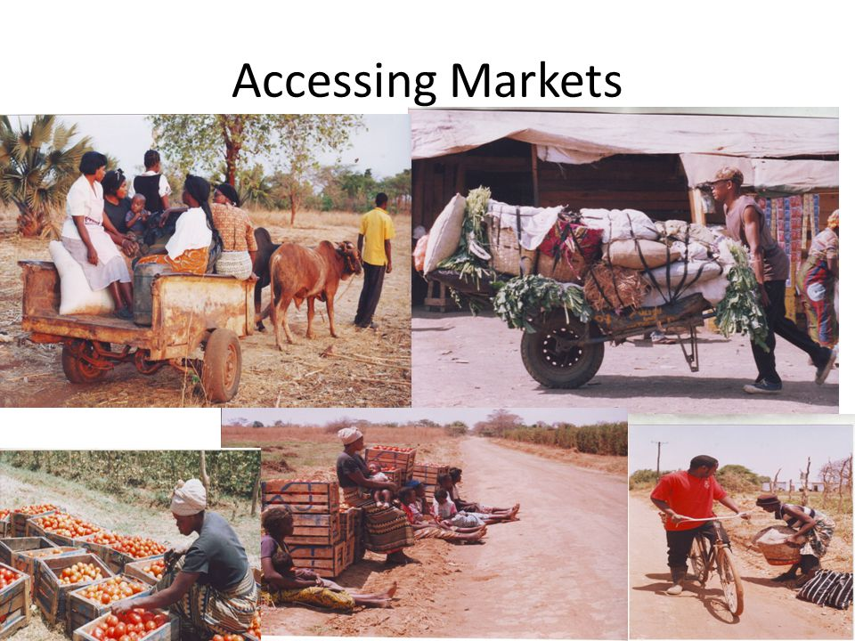 Accessing Markets