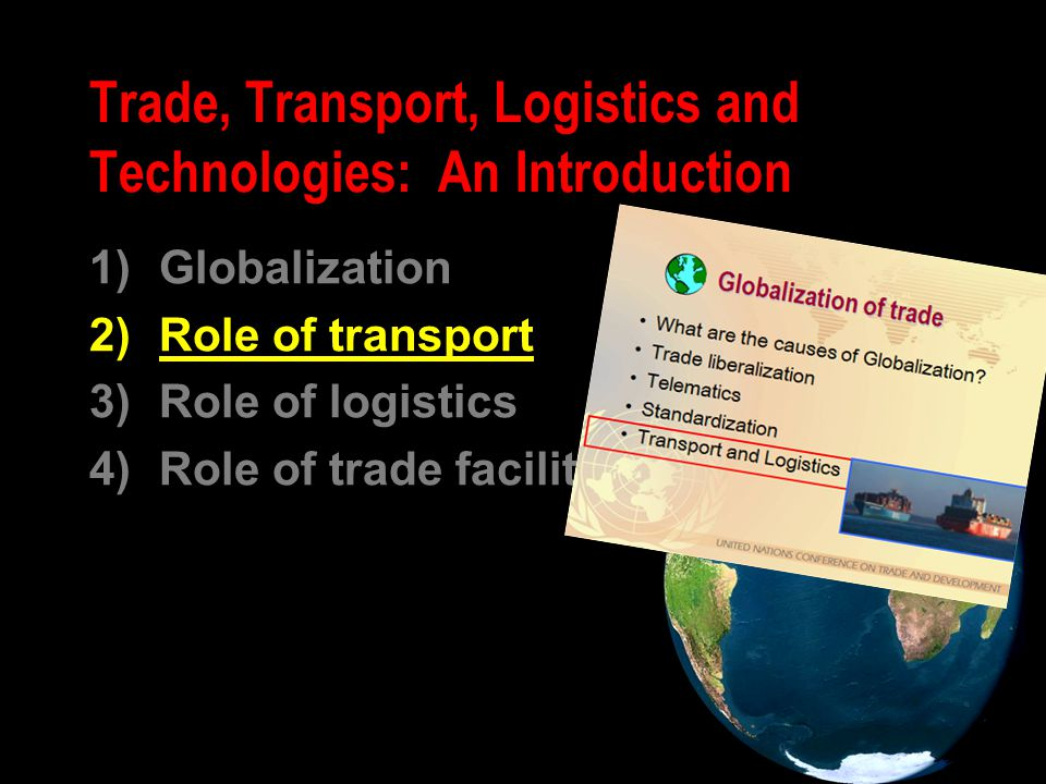 Mode of transport of global trade ? metric tons (excluding intra-EU)