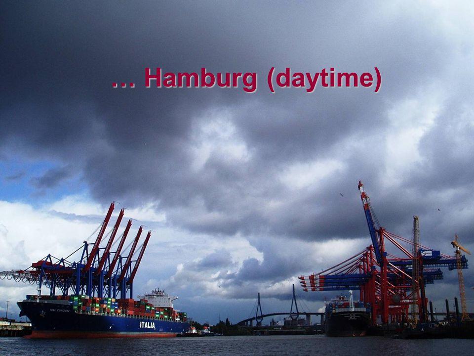 Guayaquil … Hamburg (daytime)