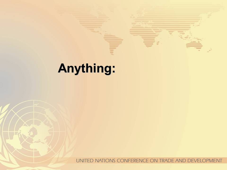Anything: The United Nations