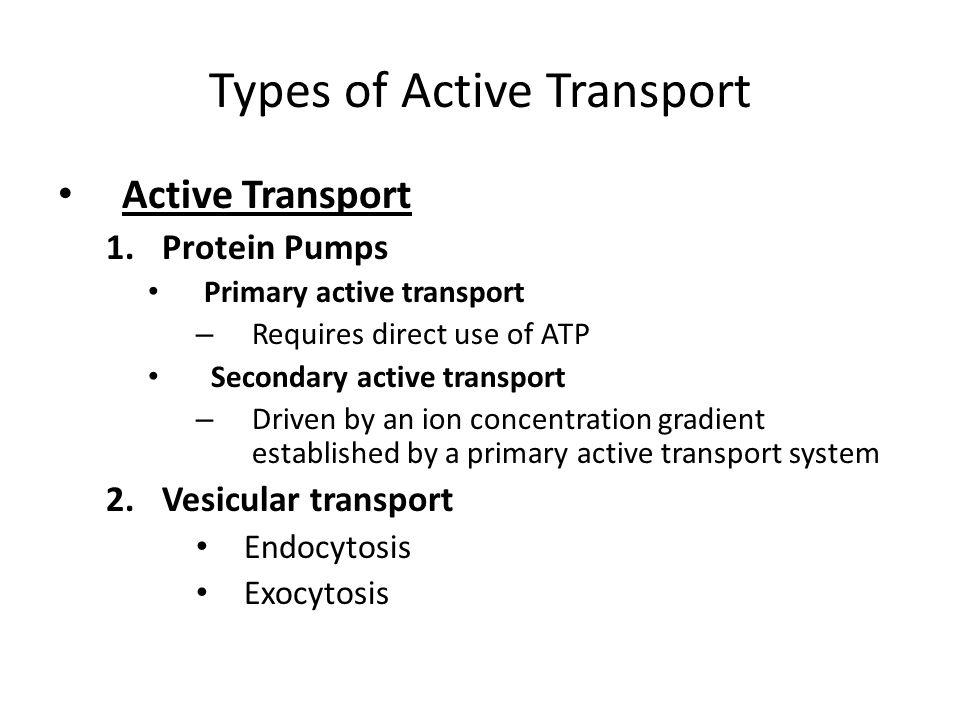 Vesicular transport across membrane Exocytose Endocytosis