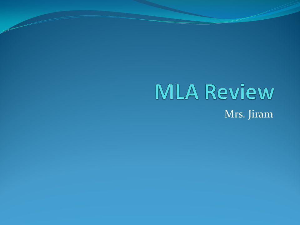 Mrs. Jiram