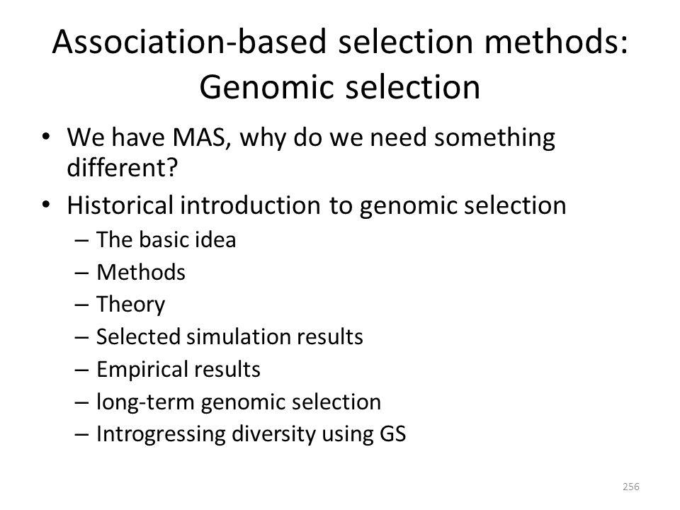 Stochastic vs deterministic prediction N P / N G Zhong et al. Habier et al. 297