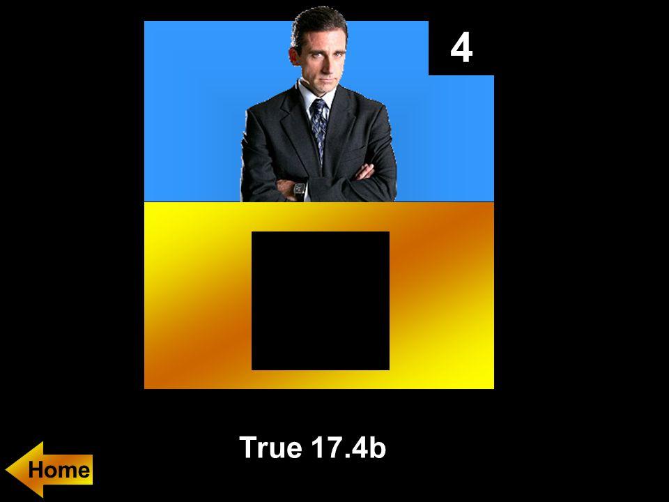4 True 17.4b