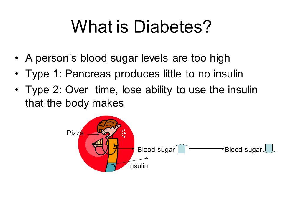 Who has Diabetes.