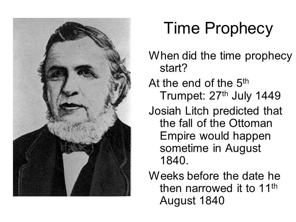 Time Prophecy When did the time prophecy start.