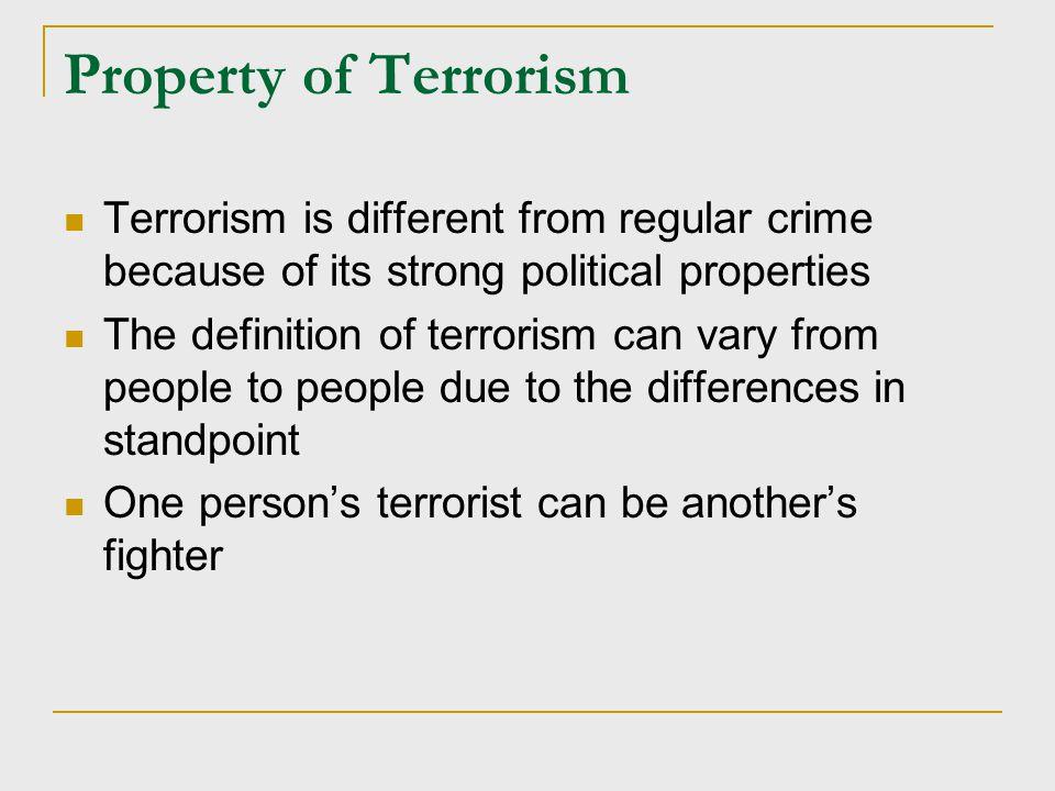 Prevention of Terrorism Primary prevention:  Education!!.