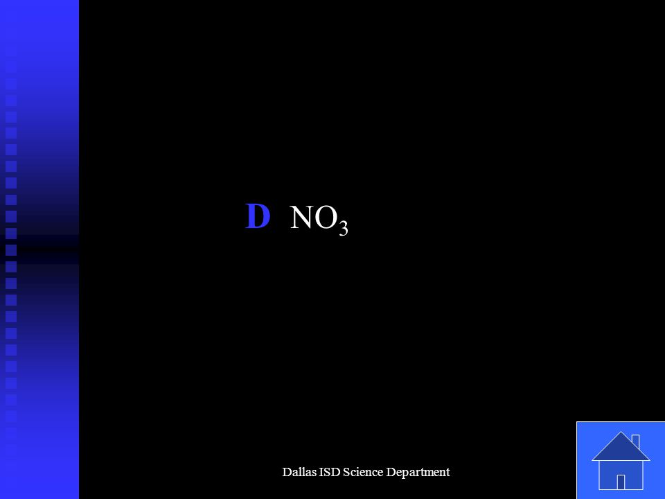 Dallas ISD Science Department D NO 3