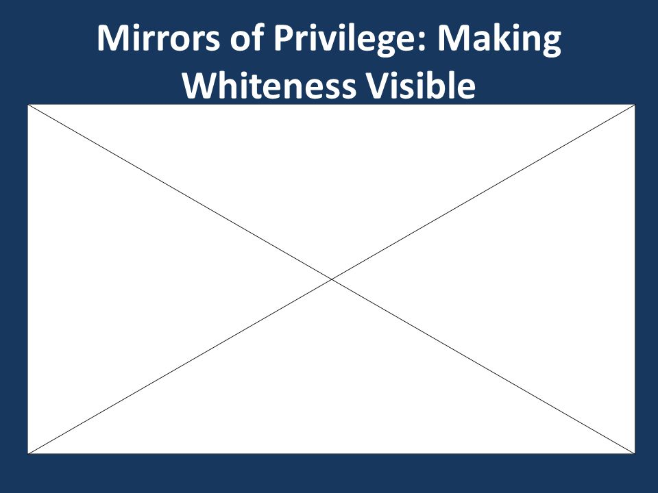 Mirrors of Privilege: Making Whiteness Visible