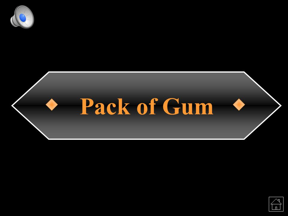 Pack of Gum
