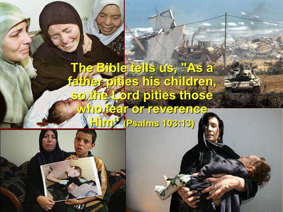The Bible tells us,
