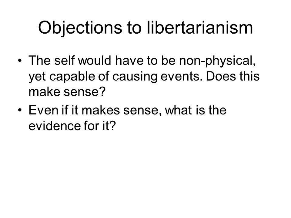 How to be a soft determinist A free act is just a VOLUNTARY act.