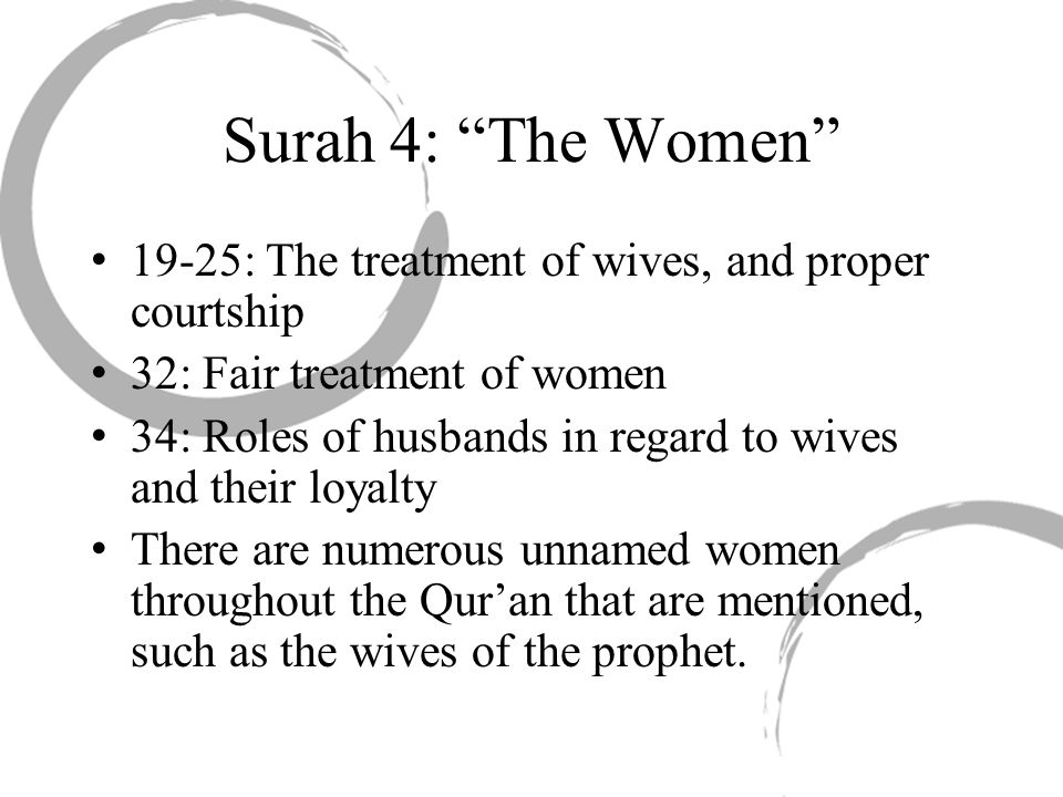 Importance of Mary Maryam (Mary, Mother of Jesus) is the only woman named in the entire Qur an.