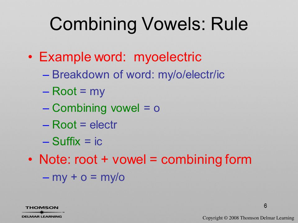 27 Additional Pronunciation Rules Words that begin with 'c' –If followed by 'e', 'i', or 'y' –Pronounced as soft 'c' –Has 'j' sound Examples –'ce' = cervix –'ci' = circumduction –'cy' = cyst