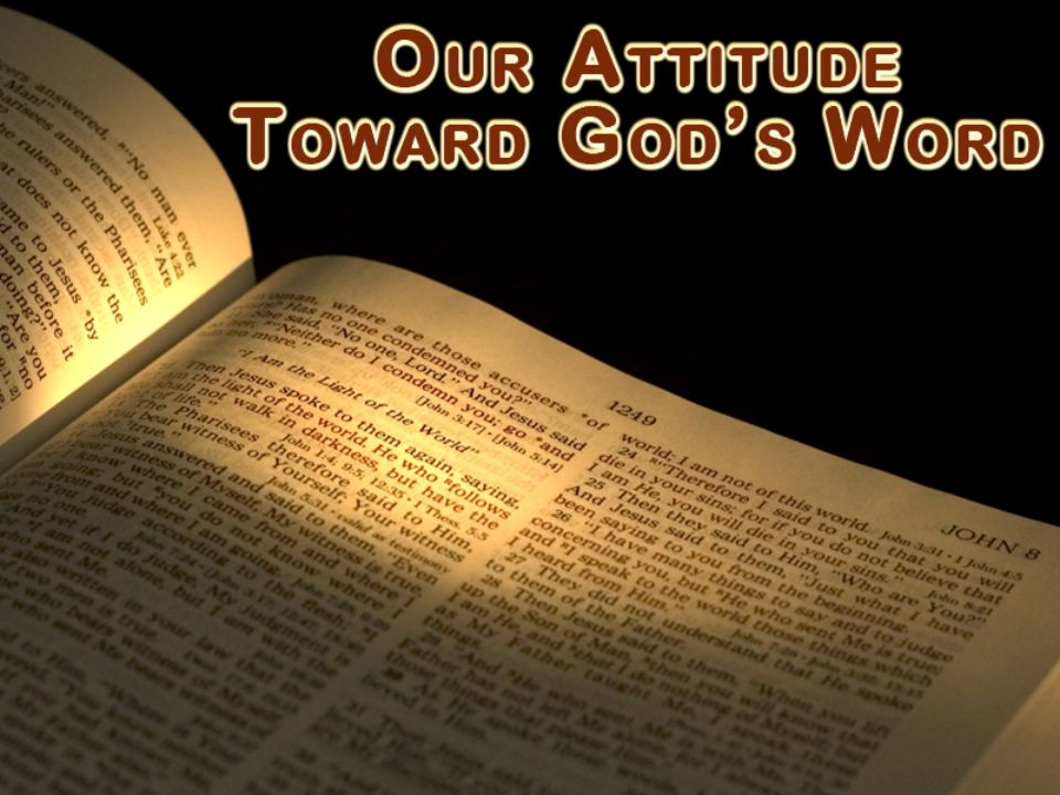 God's word is Scripture – communication with man 2 Tim.