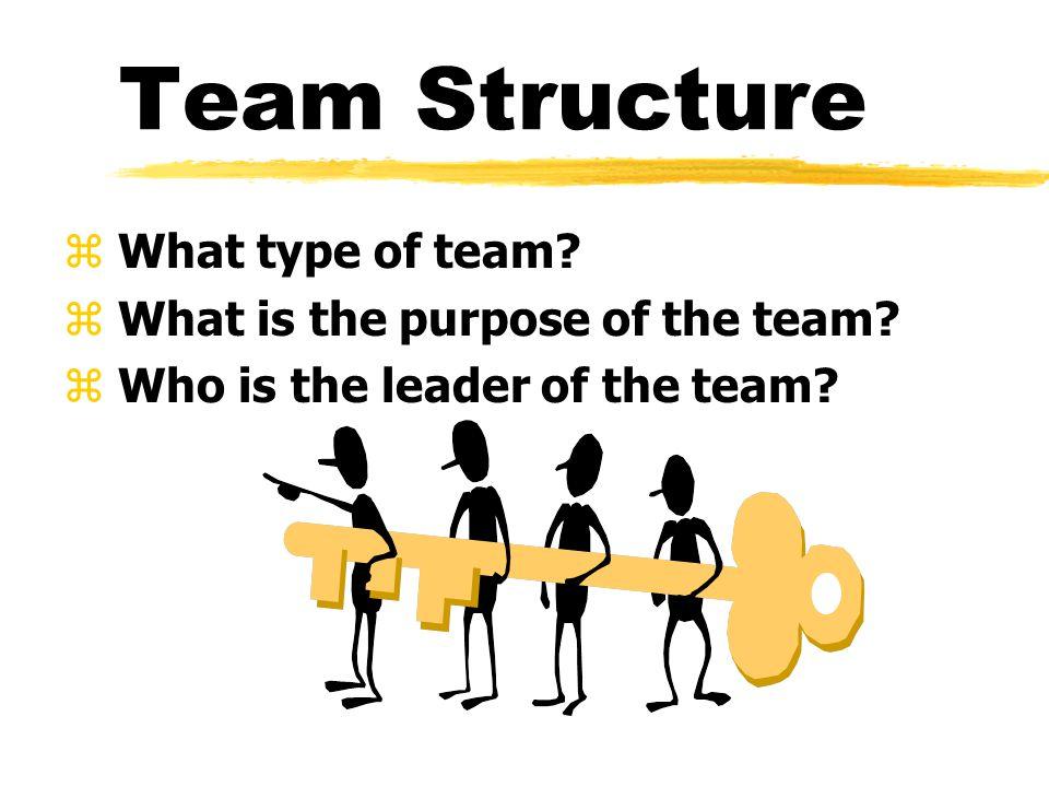 Types of Teams z Work Teams z Task Teams z Management teams