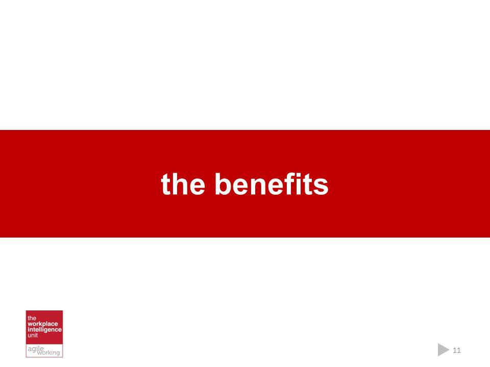 the benefits 11