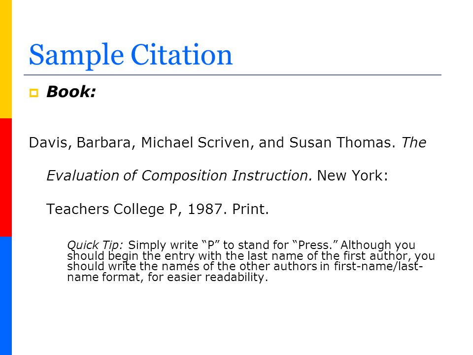 Sample Passage with Parenthetical Citations More recently, however, scholars have begun to register possible concerns about teaching portfolio use.