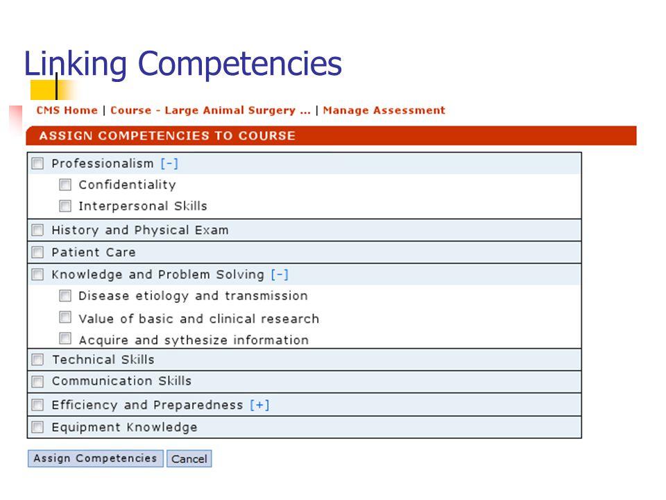 Linking Competencies