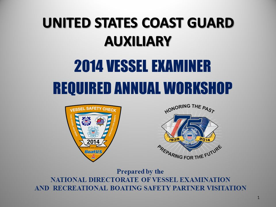 Working with the boat owner in advance provides: More exposure to the boater More opportunity to discuss boating safety More opportunity to solicit interest in the Auxiliary Pre-Examination 12