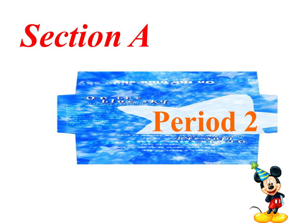 Section A Period 2