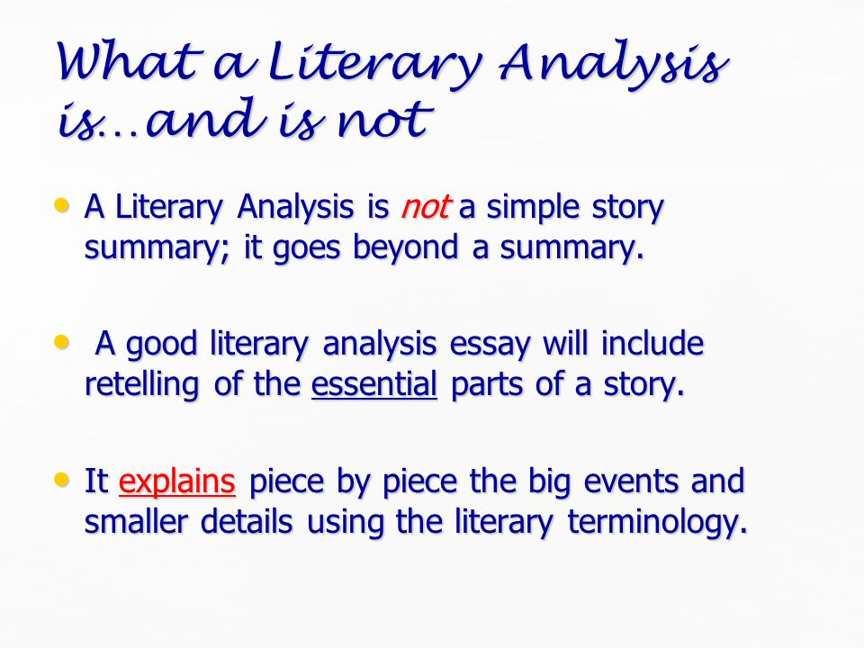 Thesis Statement Included Tells the reader how you will interpret the significance of the subject matter under discussion.