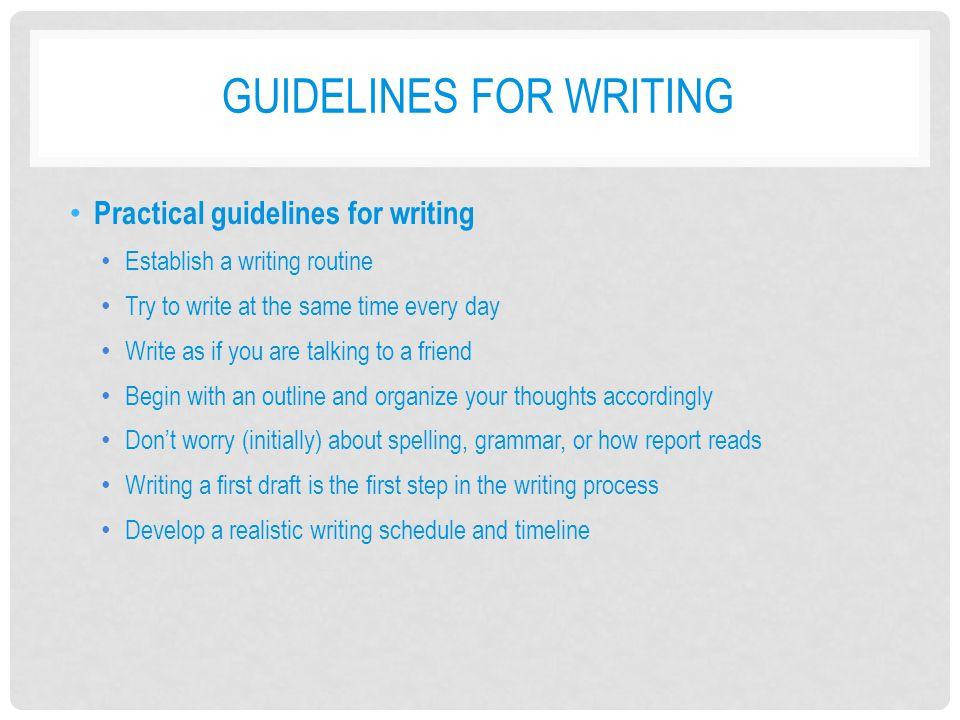 ACTION RESEARCH CHECKLIST 9 Action Research Checklist 9: Writing an Action Research Report ☐ Develop a plan for writing a report of your action research study.